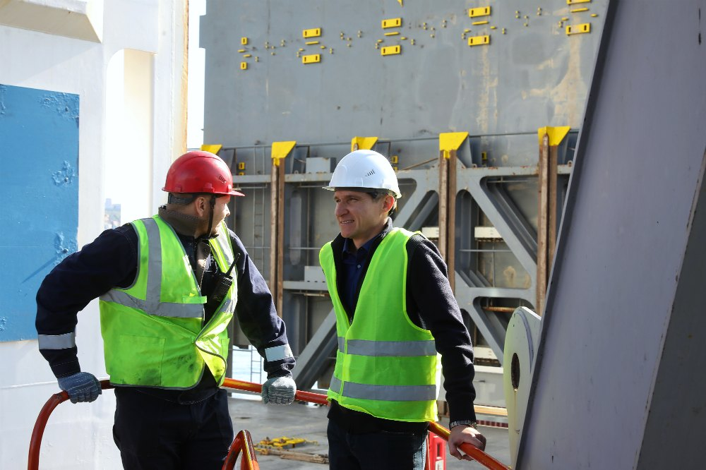 Работа в порту Дон Логистик