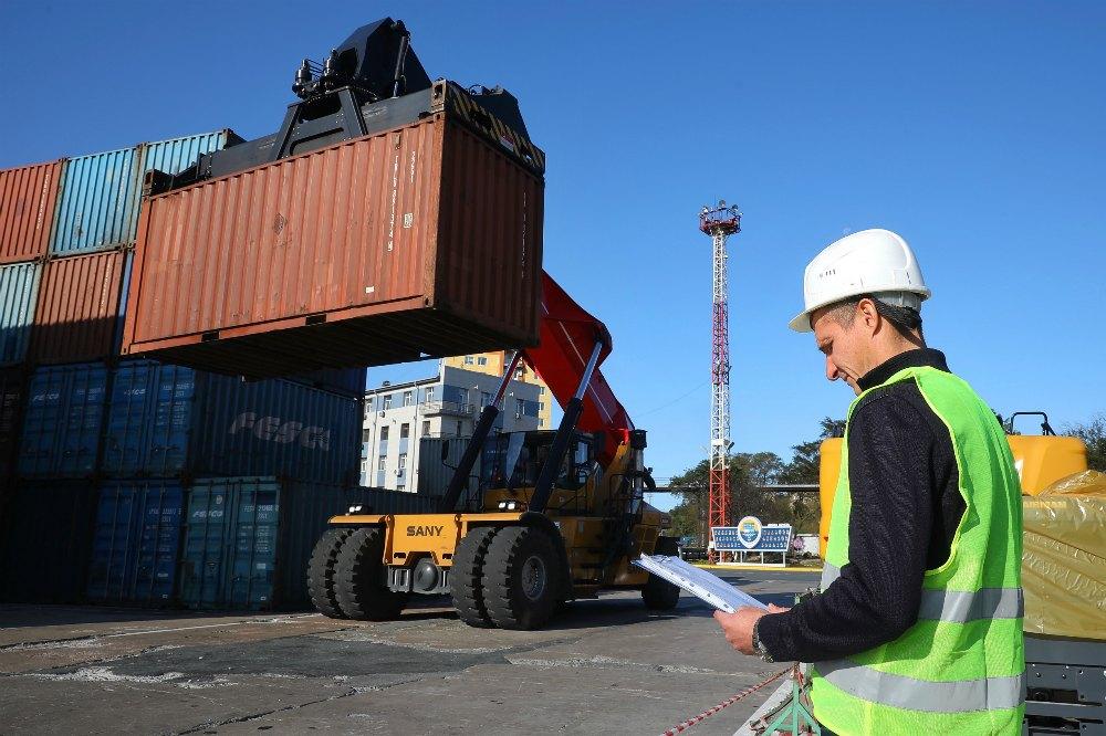 Работа в порту