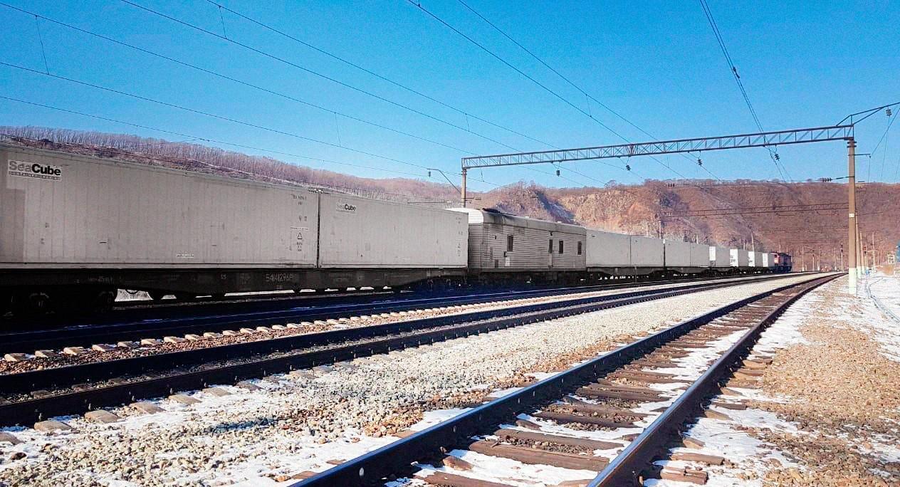 Поезд в ХуньЧунь